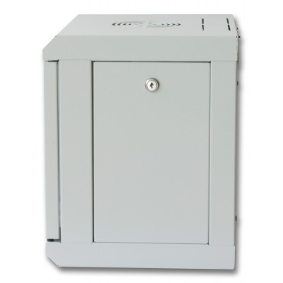 "Wall Rack Cabinet 10"" 6 unit with removable panels Grey - Techly Professional - I-CASE EM-1006GPTY-2"