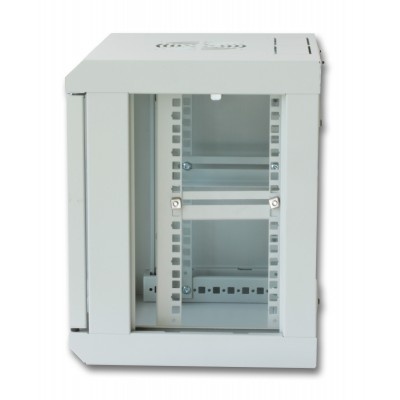 "Wall Rack Cabinet 10"" 6 unit with removable panels Grey - Techly Professional - I-CASE EM-1006GPTY-3"
