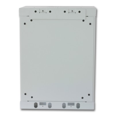 """Wall Rack Cabinet 10"""" 9 unit with removable panels Grey  - Techly Professional - I-CASE EM-1009GPTY-4"""