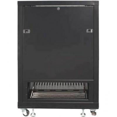 "Rack 19"" 600x600 15U Rack for Audio Video Black RECONDITIONED - Techly Professional - I-CASE AV-2115BKTYR-5"