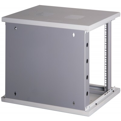"19"" Rack cabinet, 10 units, single section, depth 500mm Gray - Techly Professional - I-CASE EW-2009G5-9"