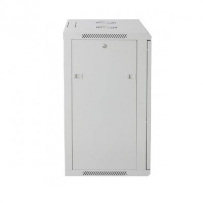 "Wall Rack Cabinet 19"" 12 units D600 to Assemble Grey - Techly Professional - I-CASE FP-3012GTY-2"