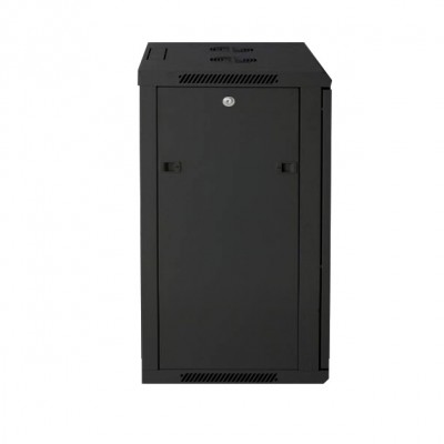 """Wall Rack Cabinet 19"""" 12 units D600 to Assemble Black - Techly Professional - I-CASE FP-3012BKTY-2"""