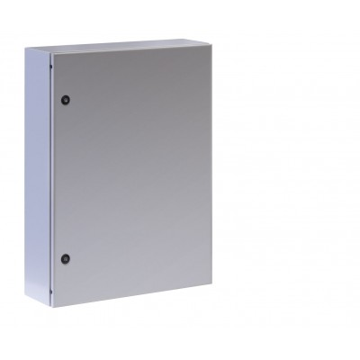 "Wall Mount Cabinet 19"" 13U IP65 Blind Door Gray 200mm depth - Techly Professional - I-CASE IP-1320GC-1"