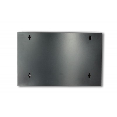"19"" Wall Network Rack 6U Depth 600 Black Assembled - Techly Professional - I-CASE ER-1006B60-5"