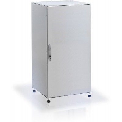 "IP55 Floor cabinet 19"" 42U Grey with blind door - Techly Professional - I-CASE IP-4288GC-1"