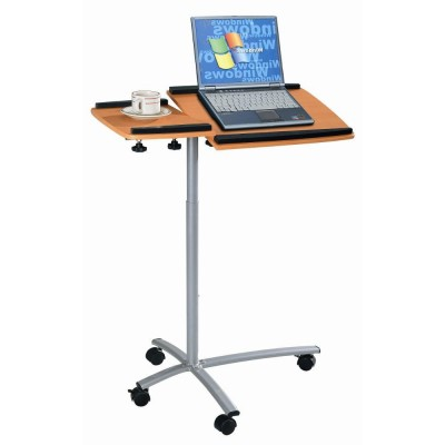 Table for Laptop Color Beech - Techly - ICA-TB B001N-1
