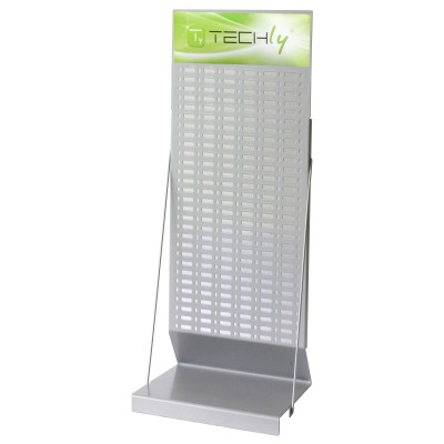 Desk Exhibitor Stand for Batteries 80cm - Techly - I-TLY-BATTERY2-2
