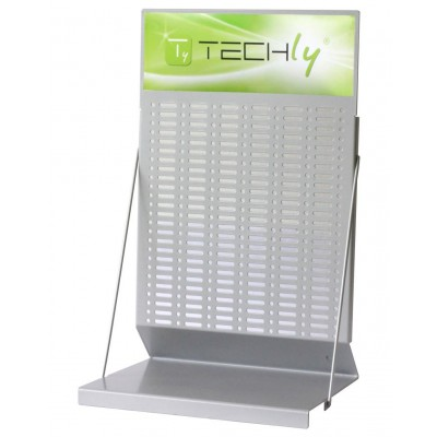 Desk Exhibitor Stand for Batteries h. 50cm - Techly - I-TLY-BATTERY1-2