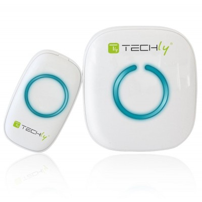 Wireless Doorbell with Remote Control up to 300 m - Techly - I-BELL-RING01-1