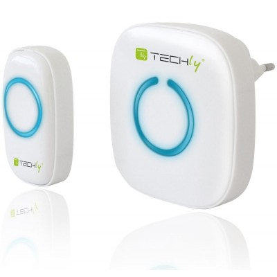 Wireless Doorbell with Remote Control up to 300 m - Techly - I-BELL-RING01-6