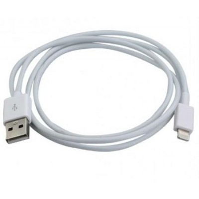 Lightning to USB2.0 Cable 8p White 1m - Techly - ICOC APP-8WH-2