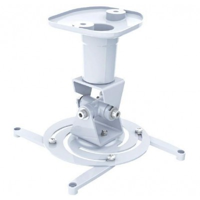Universal Ceiling Bracket for Projector, White - Techly - ICA-PM 100WH-1