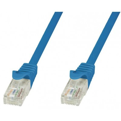Network Patch Cable in CCA Cat.6 UTP 0,5m Blue - Techly Professional - ICOC CCA6U-005-BLT-1