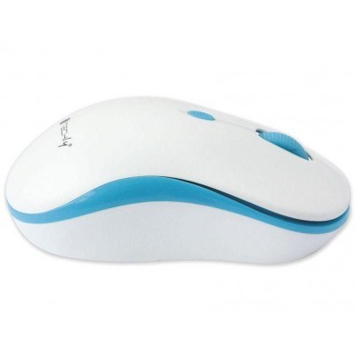 Wireless Mouse 2.4 GHz White / Blue - Techly - IM 1600-WT-WBW-2