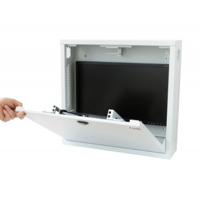 Security box for DVR White video surveillance systems with Anti-intrusion system - Techly Professional - ICRLIM08AI2-9
