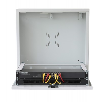 Security box for DVR White video surveillance systems with Anti-intrusion system - Techly Professional - ICRLIM08AI2-12