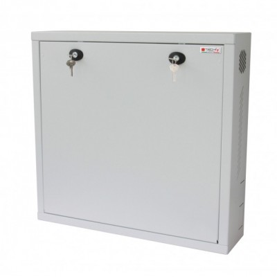 Security box for DVR and video surveillance systems White with Anti-intrusion - Techly Professional - ICRLIM08AI-1