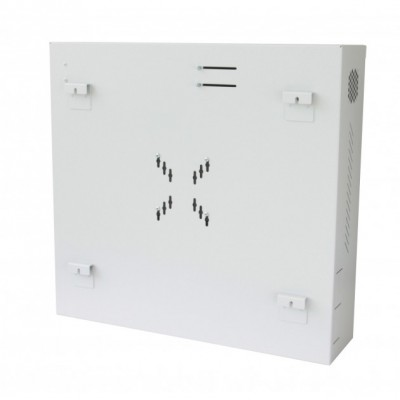 Security box for DVR and video surveillance systems White with Anti-intrusion - Techly Professional - ICRLIM08AI-13