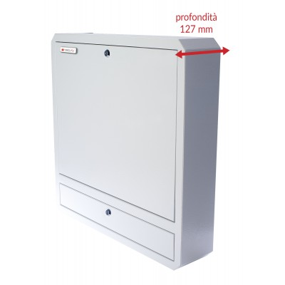 Security Box for Notebooks and Lim's accessories White RAL9016 - Techly Professional - ICRLIM01W2-4