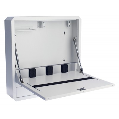 Notebook Safety Box and Accessories for LIM Depth 150 White - Techly Professional - ICRLIM11W2-2
