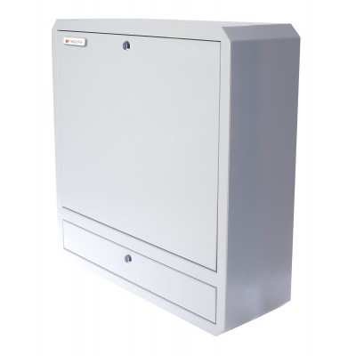 Notebook Safety Box and Accessories for LIM Depth 150 White - Techly Professional - ICRLIM11W2-4