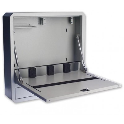Notebook Safety Box and Accessories for LIM Depth 150 Grey - Techly Professional - ICRLIM11-5