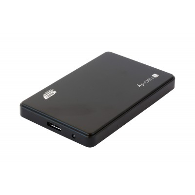 "HDD/SSD External Box 2.5"" SATA USB3.1 SuperSpeed Black - Techly - I-CASE SU31-25TY-2"