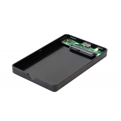 "HDD/SSD External Box 2.5"" SATA USB3.1 SuperSpeed Black - Techly - I-CASE SU31-25TY-5"