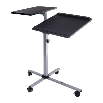 Height-Adjustable Two-Shelf Laptop and Projector Trolley - Techly - ICA-TB TPM-2-4