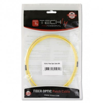 Fiber Optic Cable SC/LC 9/125 Singlemode 3m Diameter 1,2mm OS2 - Techly Professional - ILWL OS212-LCSC-030T-2