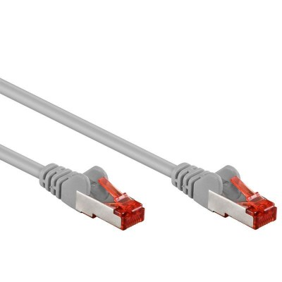 Network Patch Cable in CCA Cat.6 F/UTP 1m Gray Bulk - Techly Professional - ICOC CCA6F-010-1