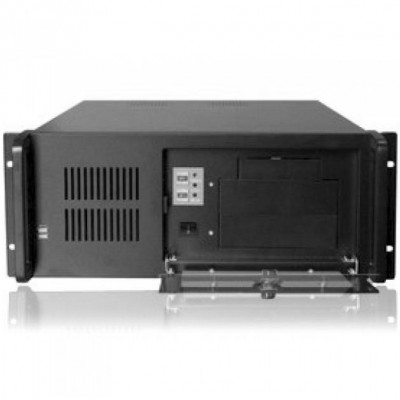 Industrial Rackmount Computer Chassis 400 mm - Techly - I-CASE MP-P4HX-BLK-1