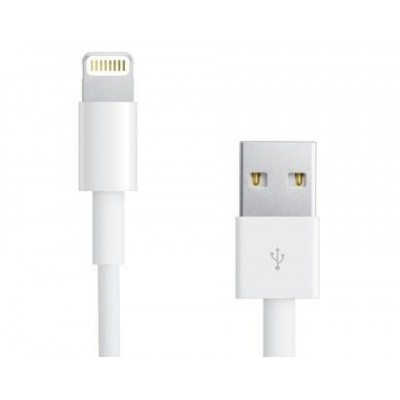 Lightning to USB2.0 Cable 8p White 1m - Techly - ICOC APP-8WH-3
