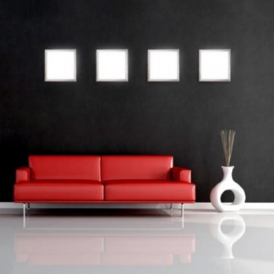 LED Panel 15 x 15 cm 12W Warm White Light - Techly - I-LED-PAN-12W-WWS-5
