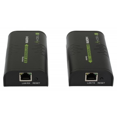 HDMI Extender on Cat.6 cable POE 120m - Techly - IDATA EXTIP-373P-5