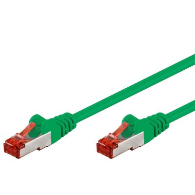 Network Patch Cable in CCA Cat.6 F/UTP 2m Green Bulk - Techly Professional - ICOC CCA6F-020-GREE-1