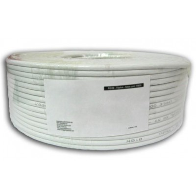 S/FTP Hank Cable Cat.6A Copper 100m Stranded PIMF Grey - Techly Professional - ITP-C6A-FLS100-1