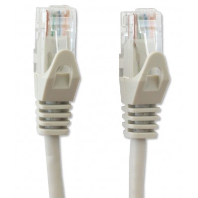 Network Patch Cable in CCA UTP Cat.6 0.25m Gray - Techly Professional - ICOC CCA6U-0025T-3