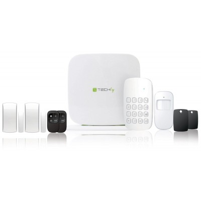 Wi-Fi/SMS/GSM wireless alarm systemTLY ALARM2 - Techly - I-ALARM-KIT002-1