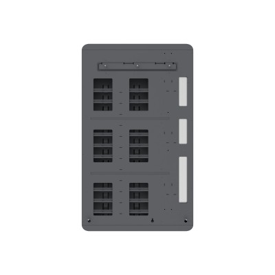 Wall Mounted Charging Cabinet 12 Tablets or Smartphones Grey - Techly Professional - I-CABINET-03TY-5