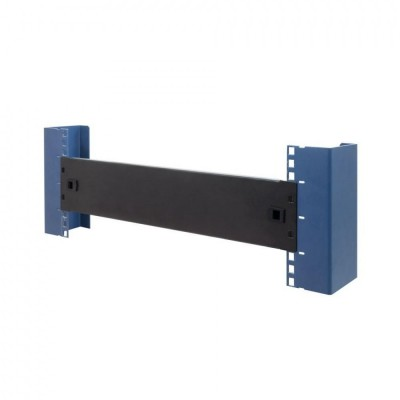 """Blind Toolless Clip Panel for Racks 19"""" Black 1 Unit - Techly Professional - I-CASE BLANK-1-SCLTY-1"""
