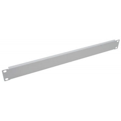 Blind Panel for ETSI Rack Cabinets Gray 1 Unit - Techly Professional - I-CASE BLANK-1ETG-1