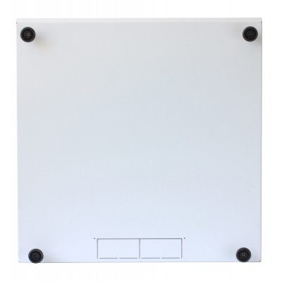 """19"""" Rack Cabinet Ideal for Photovoltaic Accumulators 8U P600mm White - Techly Professional - I-CASE EE-2008WH6-14"""