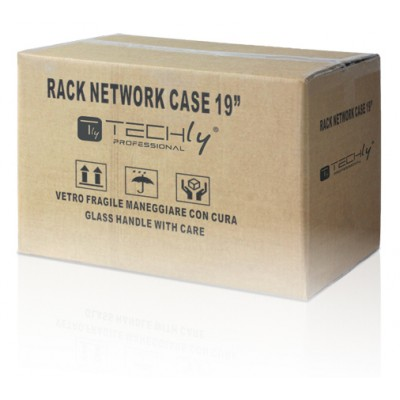 "19"" Wall Rack depth.120cm Assembled Reconditioned - Techly Professional - I-CASE EL-1006G32R-1"