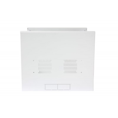 "19"" Wall Rack 13 Units Single Section 600mm Depth White - Techly Professional - I-CASE EW-2013WH6-4"