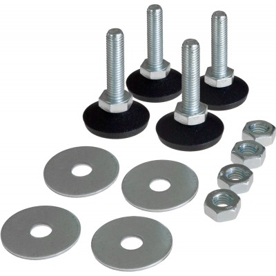 4 Leveling Feet kit for EW series cabinets - Techly Professional - I-CASE FEET-EW-1