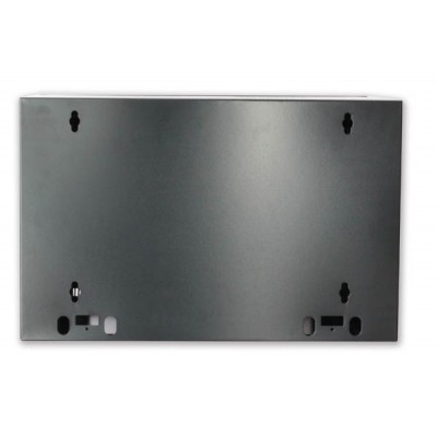 "19"" Rack Wall Cabinet, D600 Black, to be assembled Reconditioned - Techly Professional - I-CASE FP-3012BKTYR-7"