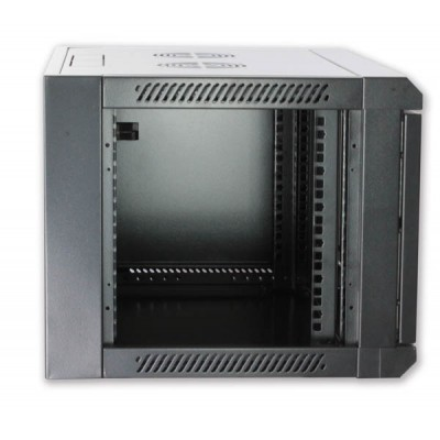 "19"" Rack Wall Cabinet, D600 Black, to be assembled Reconditioned - Techly Professional - I-CASE FP-3012BKTYR-2"