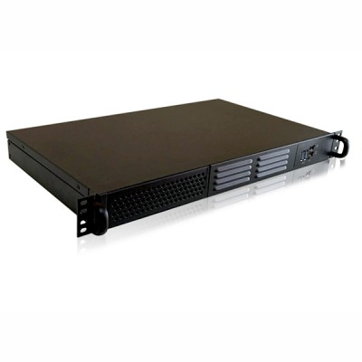 1U most compact Rackmount/Desktop Chassis 250 mm Depth - Techly - I-CASE IPC-125D-1